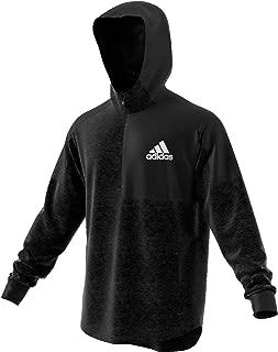 Adidas Men's Team Issue Hoodie Hoodies, Black & White, XL
