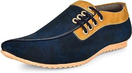 ESENSE Men's Synthetic Blue Shoes