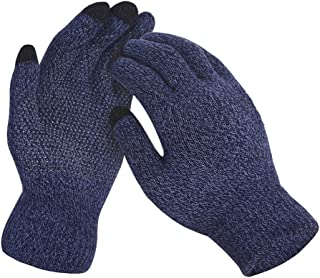 Winter Mens&Womens Touch Screen Gloves Knitted Non-slip Soft Gloves