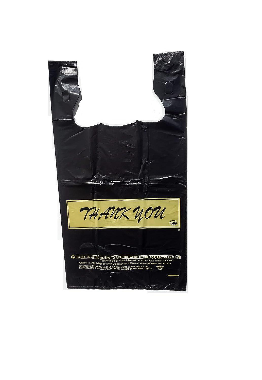 1 6 Large shipfree Black Disposable Shopping Spring new work Bags Merchandise - 500 pcs