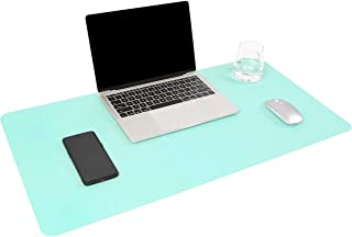 YSAGi Multifunctional Office Desk Pad, Ultra Thin Waterproof PU Leather Mouse Pad, Dual Use Desk Writing Mat for Office/Home (31.5