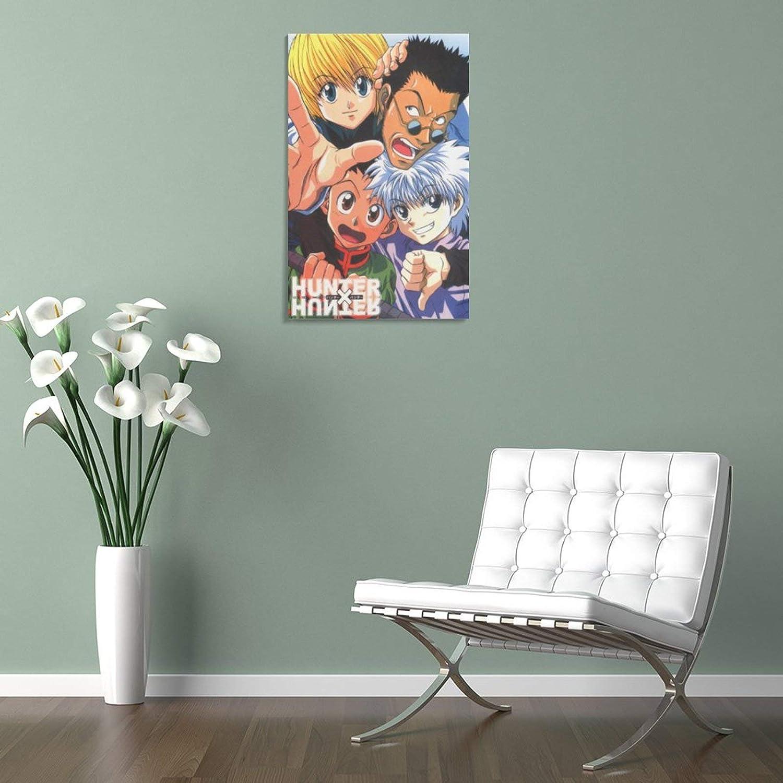 para decoraci/ón de dormitorio familiar P/óster de anime Hxh y arte de pared 20 x 30 cm impresi/ón moderna