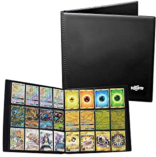 Totem World Trading Binder Portfolio for Standard MTG Pokemon Cards 12 Pocket Side Loading Perfect for Card Playset in Four X4 4 x 3 Quadrow