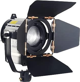 ASHANKS Dimmable Spotlight 100W LED Studio Fresnel Spot Light 3200-5500K for Studio Camera Photo Video