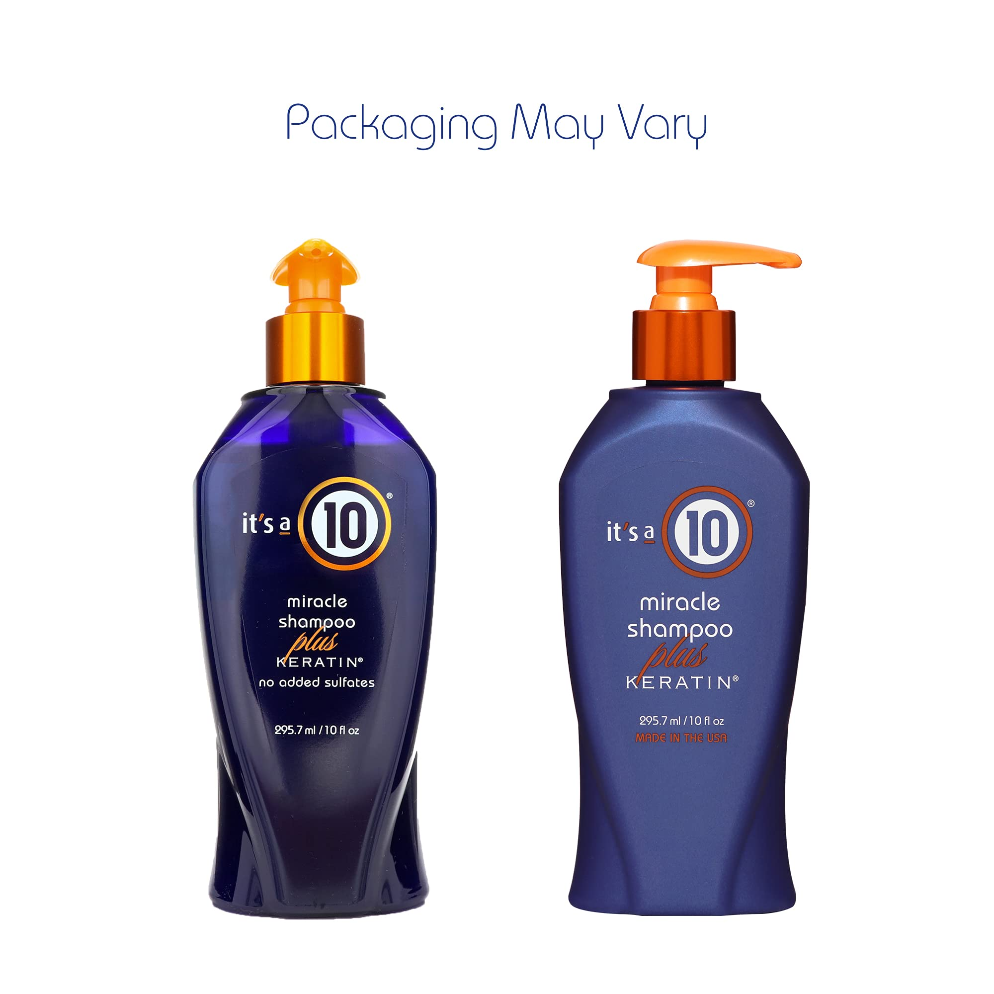 It's a 10 Haircare Miracle Shampoo Plus Keratin, 10 fl. oz. (Pack of 1)