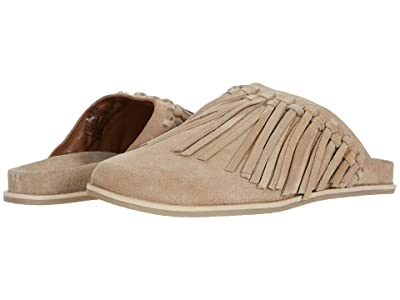 Free People Odessa Fringed Footbed (Grey) Women