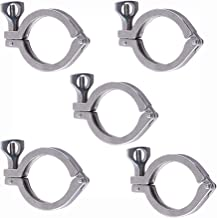 """1.5"""" Tri Clamp Stainless Steel 304 Single Pin Heavy Duty with Wing Nut for Ferrule TC 1.5''-Food Grade"""