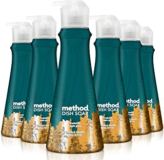 Method Method dish soap, frosted fir, 18 ounces, 6 Count