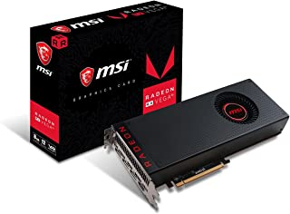 MSI Radeon RX Vega 56 8G - Tarjeta gráfica Enthusiast (8 GB de Memoria HBM2, AMD FreeSync, AMD Eyefinity, Afterburner Overclocking Utility)