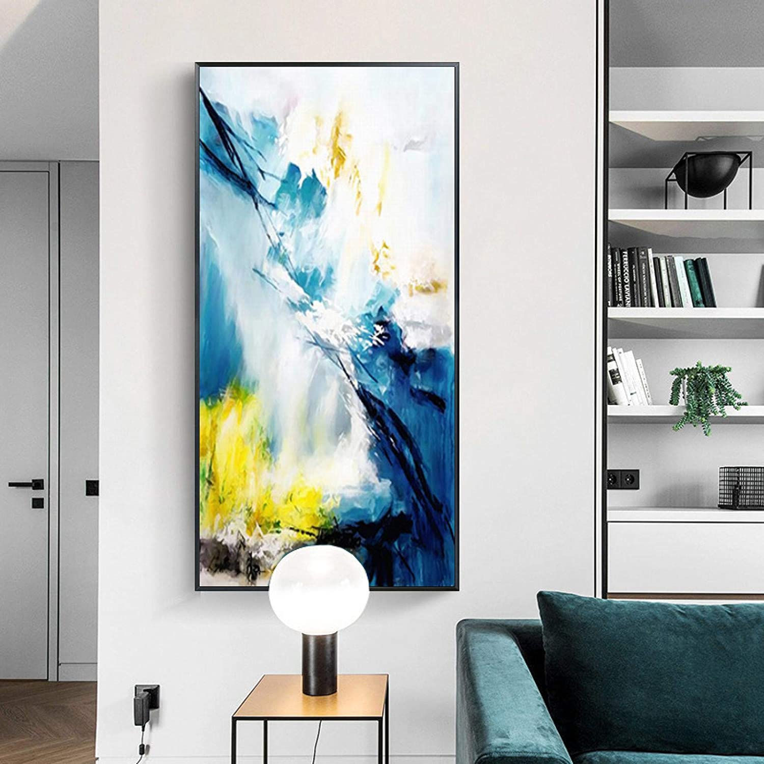 Deluxe Abstract Posters and Max 76% OFF Prints Modern Mo on Printed Painting Canvas