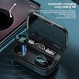 CONGGE TWS Earbuds, Wireless Bluetooth Headsets with Charging Case, True Wireless Stereo In-Earphone Compatible with Andro...