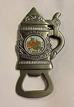 Munich Munchen Beer Stein Magnet Oktoberfest Metal Bottle Opener Germany motif