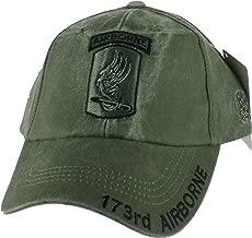 U.S. Army 173rd Airborne Brigade Combat Team Cap, Green, Adjustable