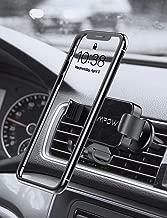 Mpow Soporte Móvil Coche Gravedad, Soporte Móvil para Rejilla del Aire, Universal 360° automático Ajustable Gravedad Porta Movil para Coche para iPhone 11/XS Max/XS/Xr/X/8/7,Galaxy S10/9/8/7,Xiaomi
