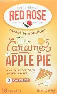 Red Rose Carmel Apple Pie Tea, 18 ct, 2 pack