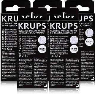 5 x Krups-xS 3000–tablette de nettoyage (lot de 10)