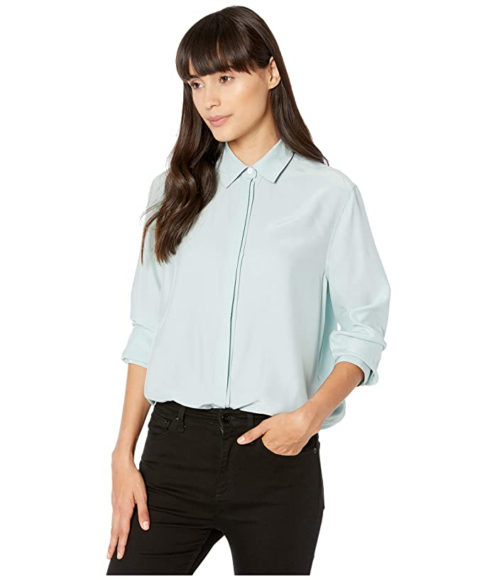 rag and bone  Anderson Shirt (Seafoam Blue) Womens Clothing