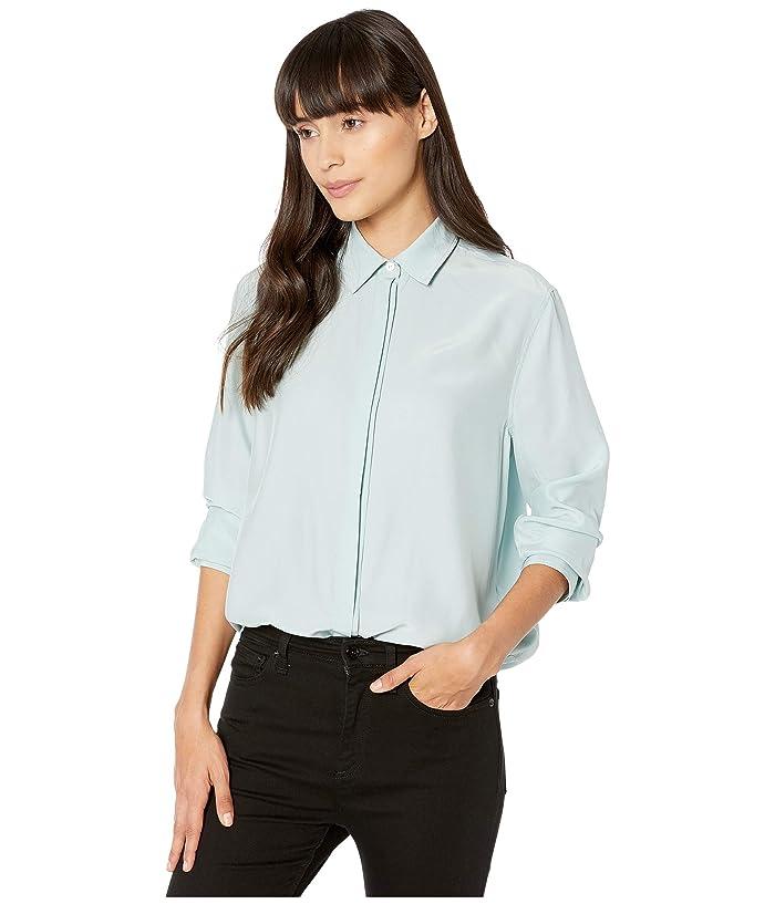 rag and bone  Anderson Shirt (Seafoam Blue) Womens Clothing
