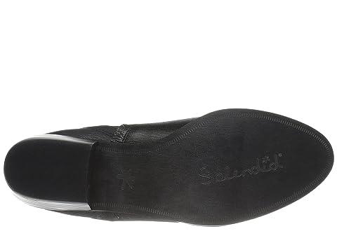 Splendid Henri Black Tumbled Leather