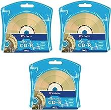 Verbatim 52X CD-R LightScribe Blank Media, 700MB/80min - 30 Pack (3 x 10 Packs)