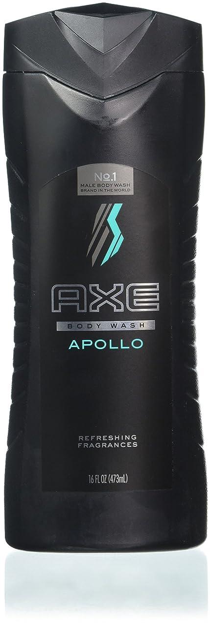AXE Body Wash for Men, Apollo, 16 oz, 4 Count