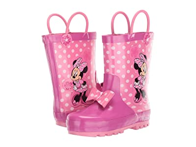 Josmo Kids Minnie Rain Boots (Toddler/Little Kid) (Pink) Girl