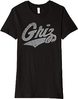 Montana Grizzlies Griz NCAA Women's T-Shirt mnta2000