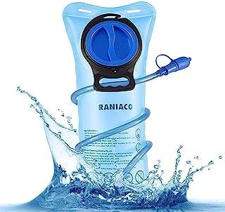 RANIACO Mochila de hidratación, Pack de hidratación para Correr con 2 l de Bolsa de Agua para Ciclismo, Camping, Senderism...