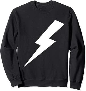 Lightning Bolt Print Sweatshirt