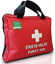 EHBO-tas | Ideaal voor vrije tijd, sport en uitstapjes | EHBO-set met 90 delen (22 x 17 cm)