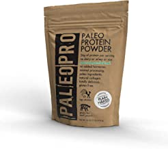 PaleoPro Protein Powder, Gluten Free, Dairy Free, Whey Free, Soy Free, No Added Hormones, Pastured Grass-fed Beef, Minimally Processed Paleo Ingredients, 1lb/454g, About 15 Servings, Plain Naked