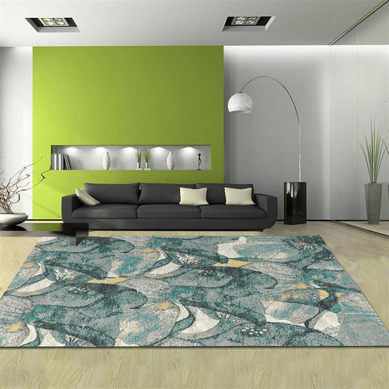 Pattern rectangular carpet mat The carpet for the living room Simple carpet Bedroom Tea table blanket Mats beside the bed-J 80x150cm(31x59inch)