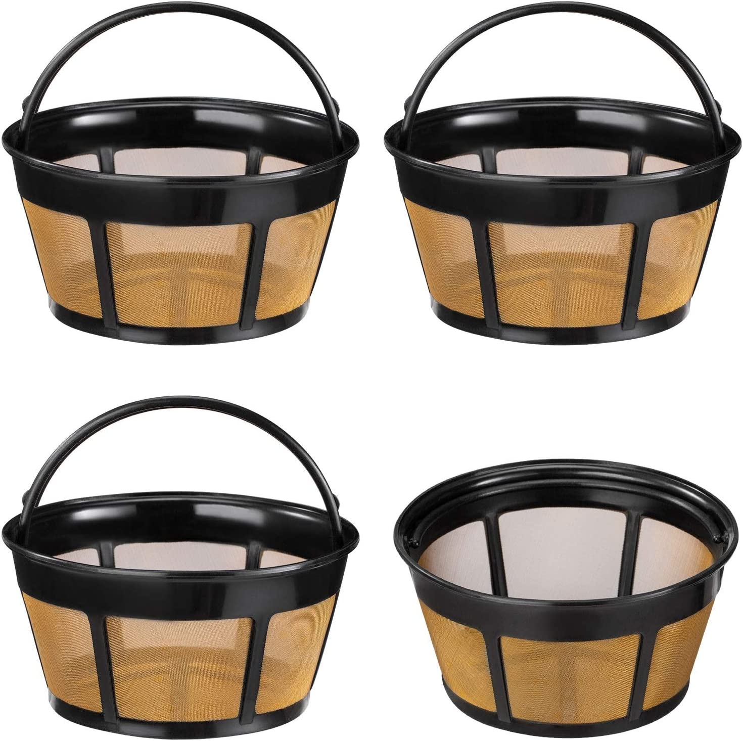 Reusable Classic Coffee Filter Award 4 Pack Re Cup Filters Basket 8-12