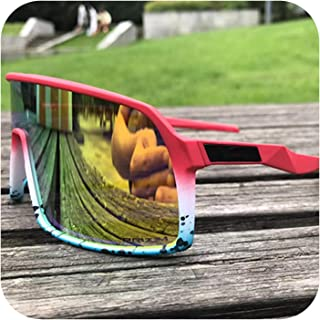 Outdoor Sports Polarized Cycling Glasses Mountain Bike Cycling Goggles Men Cycling Sunglasses UV400 Cycling Eyewear 3 Lens