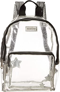 Clear Dome Backpack with Front Stars