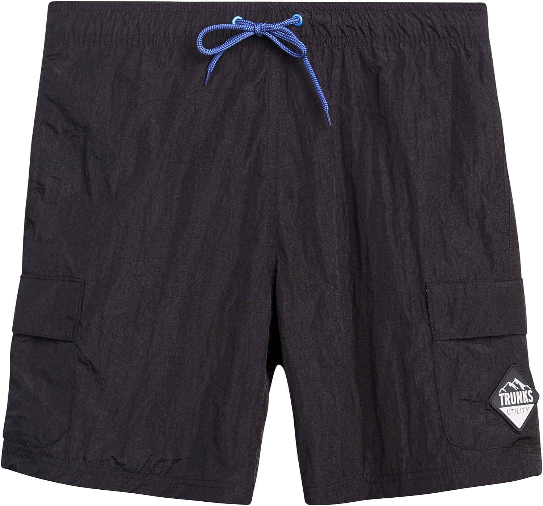 Trunks Surf & Swim Co. Men's Shorts - Quick Dry Hybrid Utility Cargo Shorts