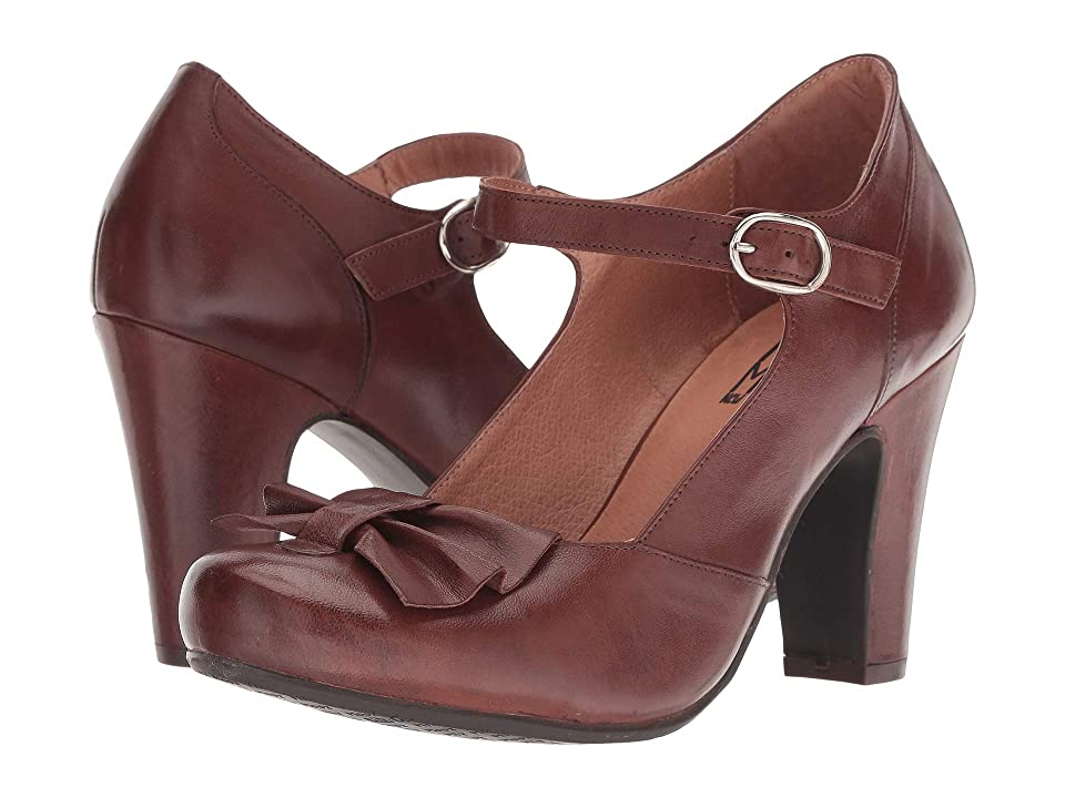 Vintage Style Shoes, Vintage Inspired Shoes Miz Mooz Jersey Brown Womens Shoes $159.95 AT vintagedancer.com