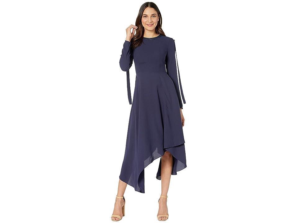 BCBGMAXAZRIA Day Long Woven Dress (Pacific Blue) Women
