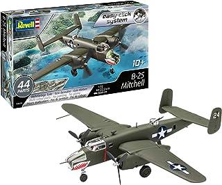 Revell-Revell-03650-Maquette Easy Click d'avion B-25 Mitchell, 1/72 Maquette, 3650, Vert