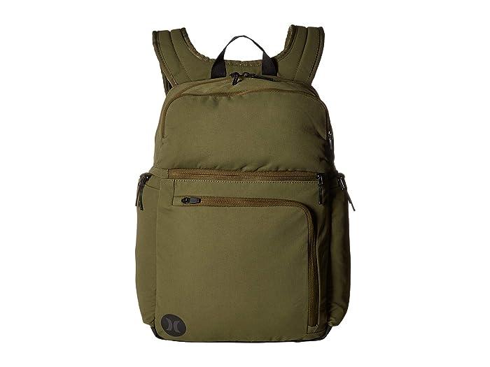 Hurley Collide Backpack (Olive Canvas) Backpack Bags