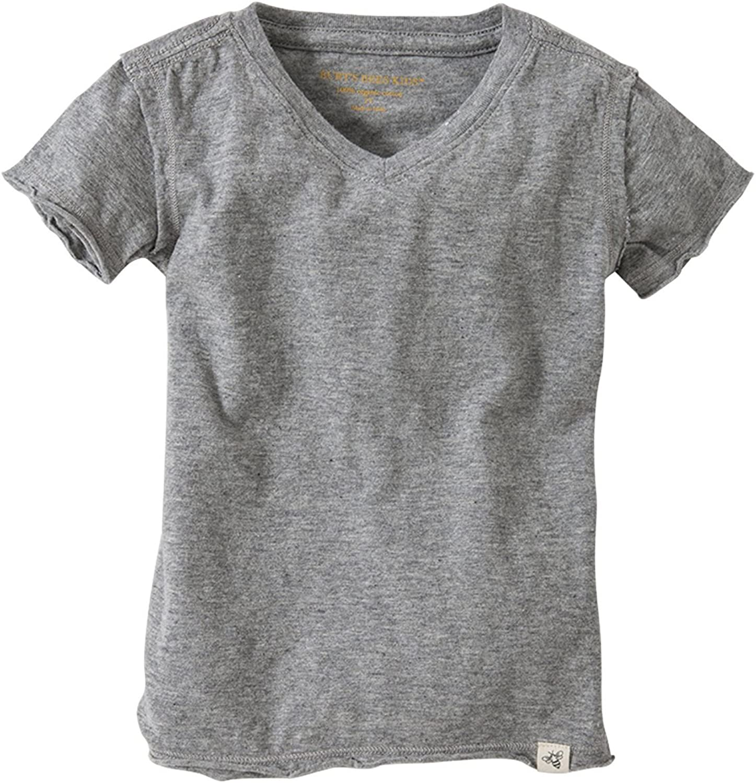 Burt's Bees Baby - Baby Boys T-Shirt, Short Sleeve V-Neck and Crewneck Tees, 100% Organic Cotton