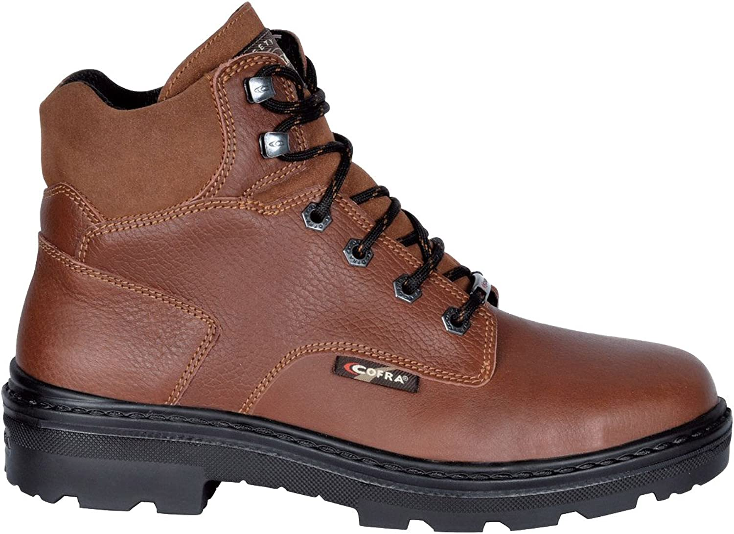 Cofra 25670-002.W44 Size 44 Erie Bis  S3 SRC Safety shoes - Brown