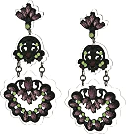 Steve Madden - Crystal Drop Earrings