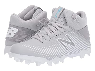 New Balance Kids Freeze 2.0 Lacrosse (Little Kid/Big Kid) (Grey/White) Kids Shoes