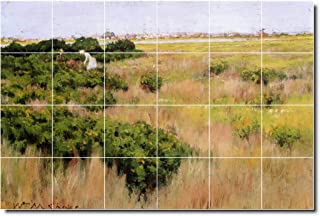 Ceramic Tile Mural-William Chase Landscapes Painting 598. 25.5