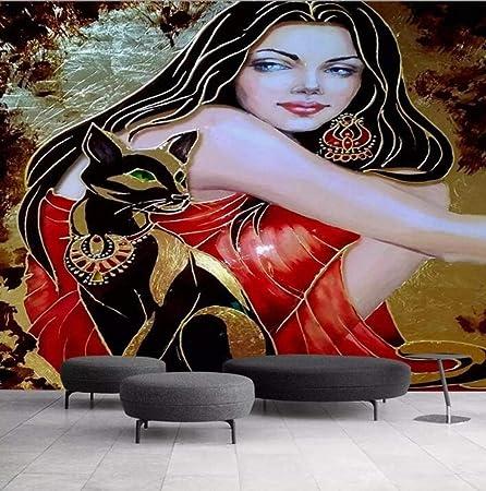 Fond D Ecran 3d Ultra Hd Femme Nue Art Photo De Fond Papier Peint De Peinture Decorative Pour Les Murs 3 D 400 280 Amazon Fr Bricolage