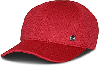 product image for Mitscoots Outfitters Red Low Profile Moisture Wicking Performance Hat