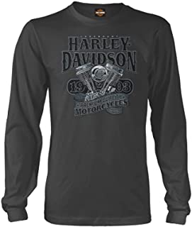 Harley-Davidson Military - Men's Long-Sleeve Graphic T-Shirt - Overseas Tour | Big V-Twin