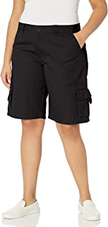 Women's Plus-Size 11-inch Relaxed Cargo Short