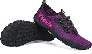 Voovix Mens Water Shoes Womens Quick Drying Barefoot Shoes Hiking Swim Surf Beach Pool